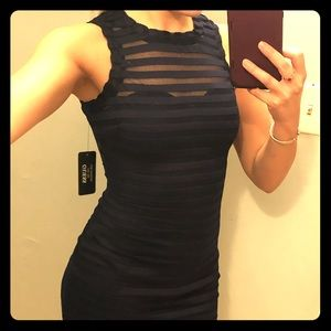 Guess Navy Blue Dress NEVER WORN BRAND NEW